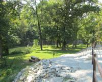 Picnic area at Baptist Camp Access