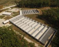 aerial view of the Busch Shooting Range rifle range