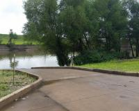 Boat ramp at Headwaters Access