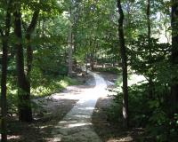 paved path at Hickory Woods CA
