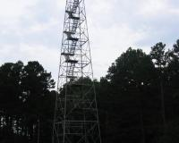 fire tower at Lenox Towersite