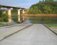 boat ramp at Mari-Osa Access