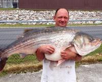 State-Record Striped Bass