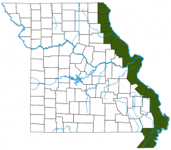 image of Bowfin Distribution Map
