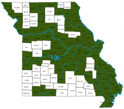 image of Gizzard Shad Distribution Map