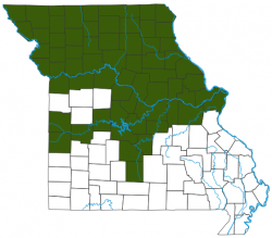 image of Northern Pike distribution map