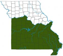 image of Spicebush Swallowtail Distribution Map